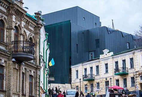 Полиция совместно с прокуратурой прекратила незаконное строительство жилого комплекса в историческом урочище Киева - Цензор.НЕТ 8993